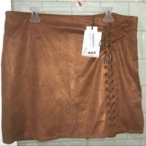 Woman's mini skirt